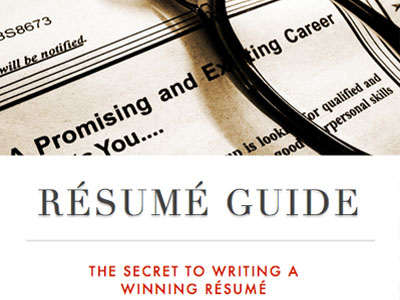 Free Resume Writing eBook - PDF Download