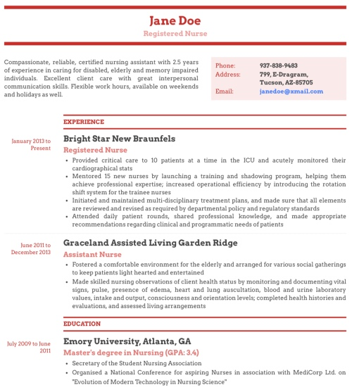 Professional Resume Template & Format - 'Modernism'