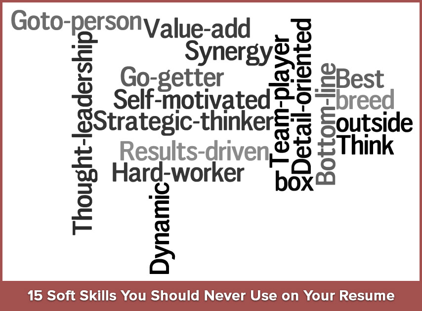 15 Soft Skills You Should Never Use On Your Resume  Words To Use In Your Resume