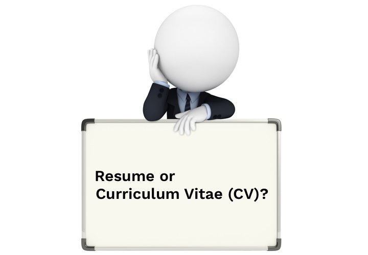 Resume Vs Curriculum Vitae (Cv): What'S The Difference? - Resumonk